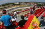 Tribune A, GP Barcelone<br />Circuit de Catalogne Montmelo